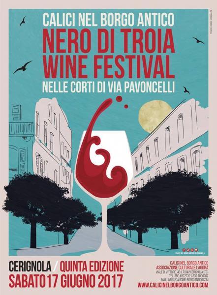 Calici nel Borgo antico - Nero di Troia Wine Festival- Nelle corti di via Pavoncelli