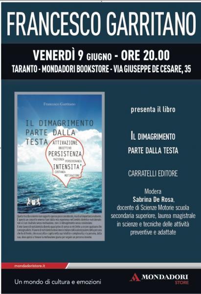 Incontro con l'autore Francesco Garritano