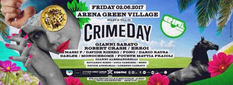 Crime Day all'Arena Green Village