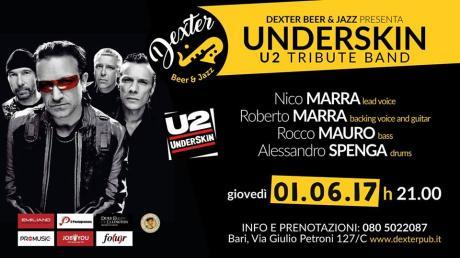 Underskin live al Dexter live in Bari Joshua Tree