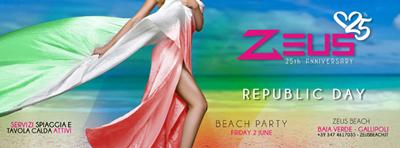 Beach Party - Republic Day