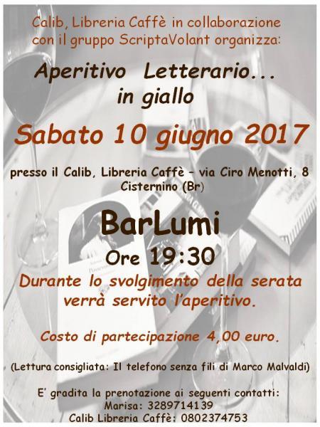 Aperitivo letterario: BarLumi