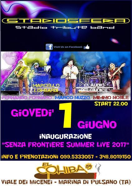 Inaugurazione Stagione LIVE EL Cohiba 59