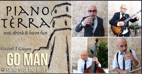 """Go Man""- Swing Soul & Blues Live al Piano Terra"