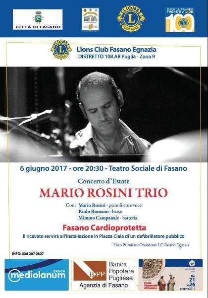 Concerto D'Estate Mario Rosini Trio