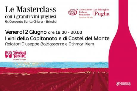Le MasterClass di Ais Puglia a Vinibus Terrae con le eccellenze vinicole pugliesi