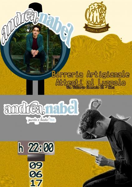 Andrea NABEL - punto e basta!TOUR