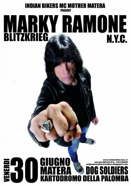 MARKY RAMONE BLITZKRIEG TOUR - DOG SOLDIERS - Bike Show & Rock Festival