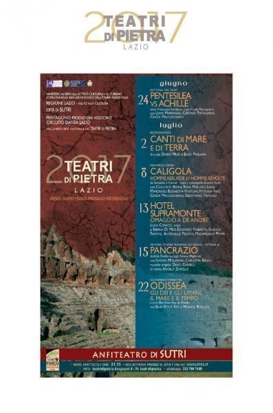 Teatri di Pietra, su il sipario all'Anfiteatro romano di Sutri