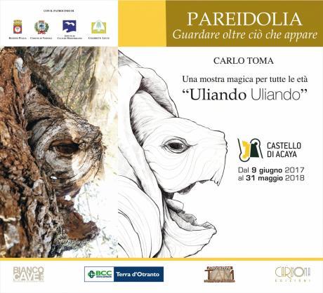 """Mostra """"Uliando Uliando"""" al Castello di Acaya dal 9 giugno"""