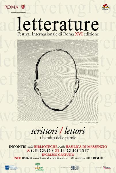 LETTERATURE Festival Internazionale di Roma, XVI edizione