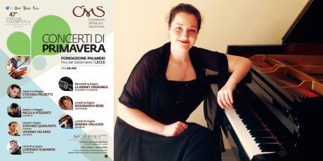 Serena Valluzzi, pianoforte
