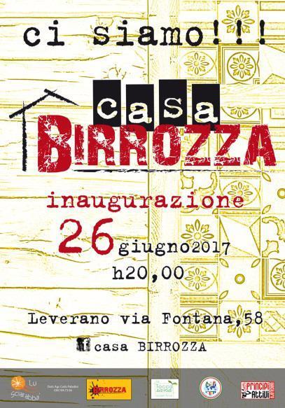 Casa Birrozza: la prima pucceria salentina a km zero - INAUGURAZIONE