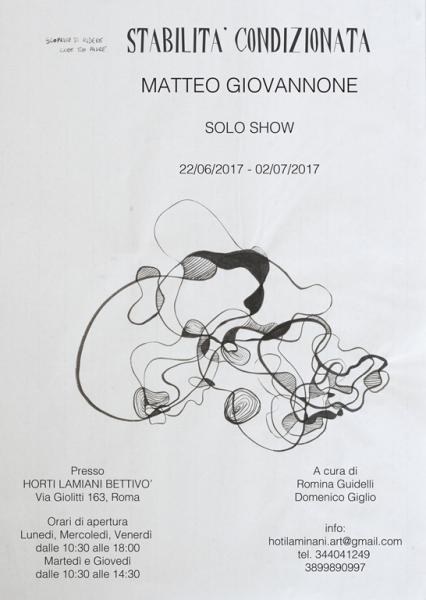Matteo Giovannone - Stabilità Condizionata