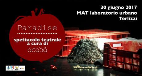 Paradise - teatro con la compagnia Acasa - MAT Terlizzi