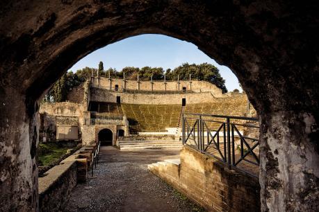 POMPEII THEATRUM MUNDI: Baccanti di Euripide