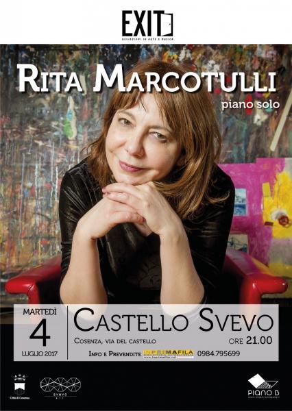 Rita Marcotulli in concerto per EXIT. Deviazioni in arte e musica
