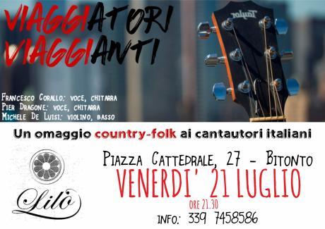 Viaggiatori Viaggianti - Viaggio country folk nella musica italiana d'autore