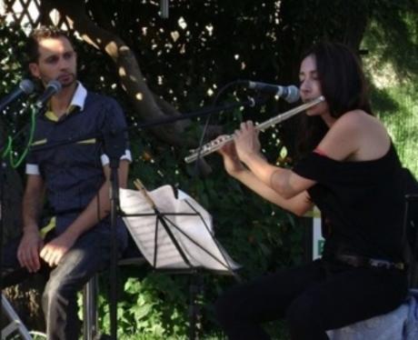 Flatus Vocis Stefano Luigi Mangia (voce) & Giorgia Santoro (flauti)