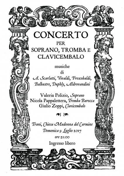 Concerto per Soprano, Tromba Barocca e Clavicembalo