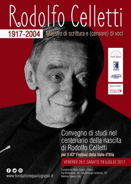 Convegno Rodolfo Celletti - Maestro di scrittura e (censore) di voci