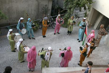 Kantun Winka - la Banda Guirab in concerto