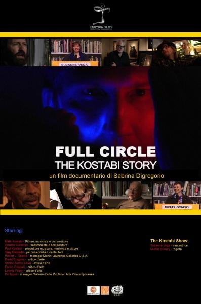"Videoproiezione di ""Full circle, the Kostabi story"""