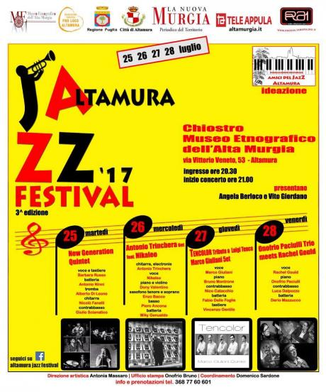 """Buona musica sotto le stelle con """"Altamura Jazz Festival"""""""