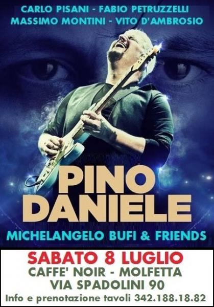 Pino Daniele  - e il Tempo Restera'  -  con Michelangelo Bufi & Friends