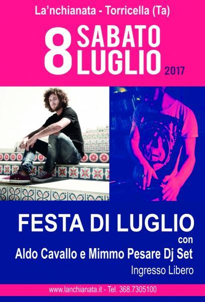 """""""Festa di Luglio"""" a La'nchianata"""