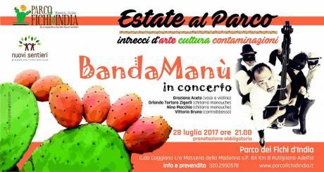 BandaManù - Concerto swing al Parco dei Fichi d'India