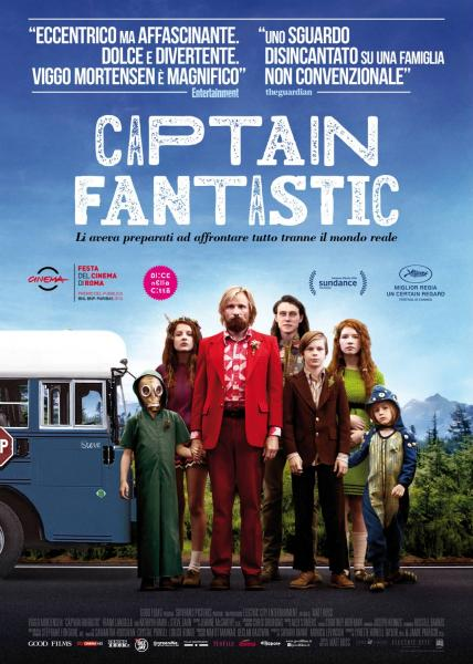 CINEMA ALL'APERTO - CAPTAIN FANTASTIC