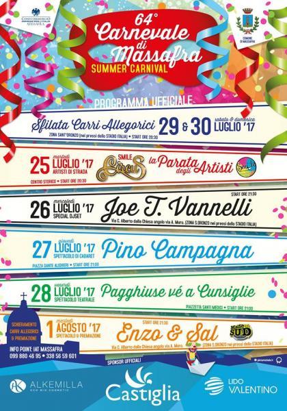 64° Carnevale di Massafra