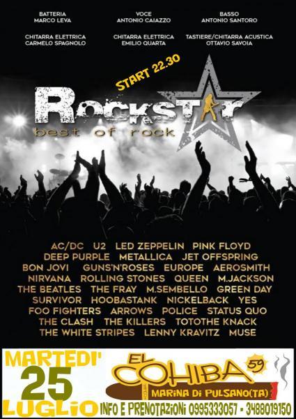 Rockstar live a el Cohiba 59