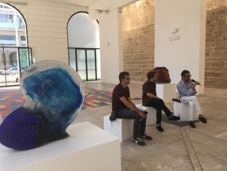 Diego Perrone / Sussi e Biribissi /sculture e Disegni