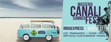 Indiaexpress-Masseria Canali Summer Fest