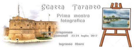 """Da Sabato 22 a Lunedì 24 luglio, """"MostriAmo Taranto in foto"""" prima mostra fotografica di Scatta Taranto"""