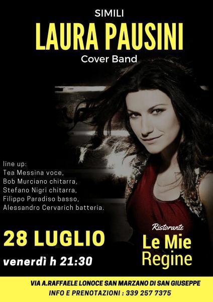 Simili Laura Pausini Cover Band live at Le mie Regine