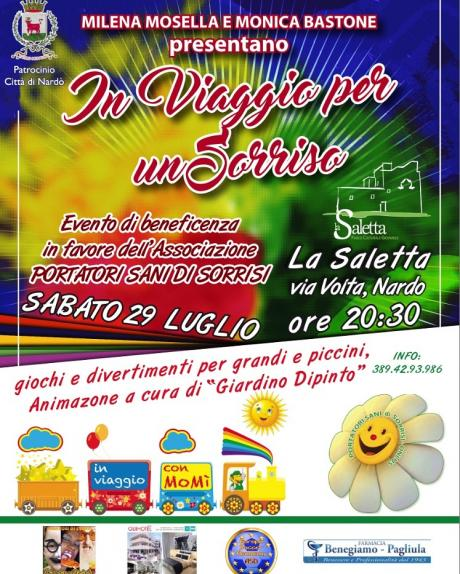 In Viaggio per un Sorriso - Evento di Beneficenza