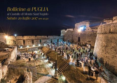 Bollicine di Puglia al Castello di Monte Sant'Angelo.