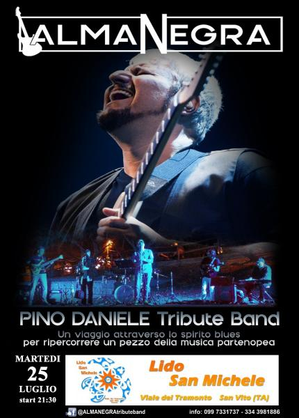 ALMANEGRA Pino Daniele Tribute Band al Lido San Michele