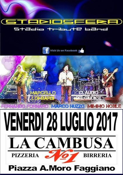 Stadiosfera Live a La Cambusa Pub Faggiano