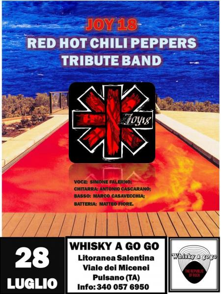 Joy18 (Red Hot Chili Peppers Tribute Band) Live Whisky A Go go