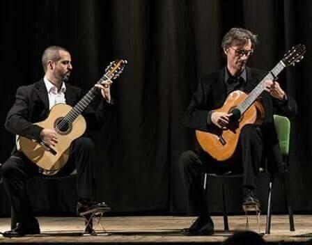 """Festival Chitarristico Internazionale """"CITTA' DELLO JONIO"""" DUO DI SIRACUSA. da Vivaldi a De Falla"""