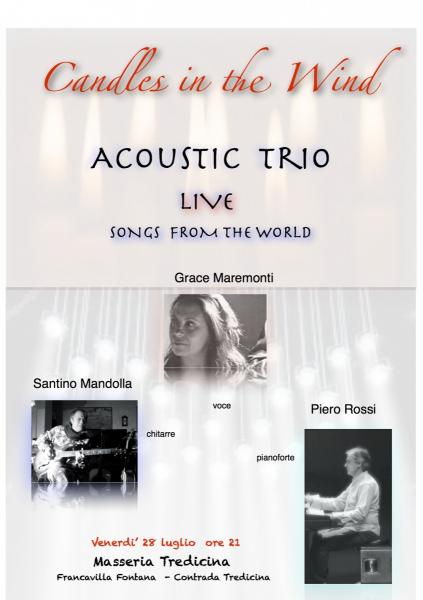 Concerto trio 'Candles in the wind'