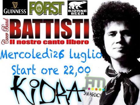 """""""IL NOSTRO CANTO LIBERO """".... Lucio Battisti Tribute Band"""