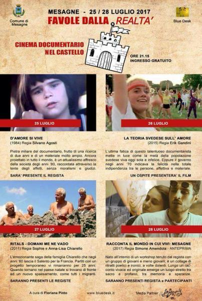 FAVOLE DALLA REALTA' - rassegna dedicata al cinema d'autore.
