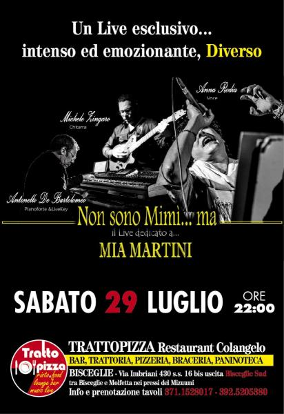 Tribute band MIA MARTINI