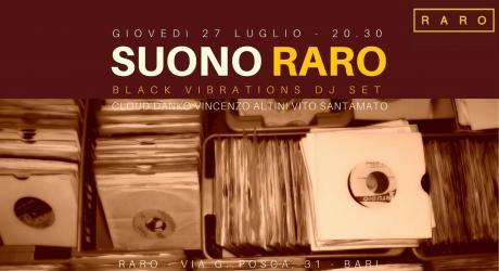 Suono RARO vinyl set - Dj set Black Vibrations