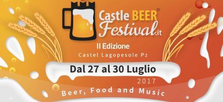 """2° Edizione del """"Castle BEER Festival"""""""